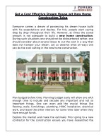 Get a Cost Effective Dream House wit New Home Construction Tulsa