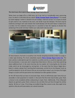 The most issues that require Water Damage Repair Santa Monica