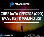 Chief Data Officers Email and Mailing List| CDO email Lists in USA