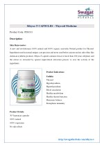 sthyra-t capsules | Thyroid Medicine from Swagat Herbals