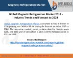 """Magnetic Refrigeration Market"" Global Industry Trends and Forecast to 2024"