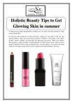 Holistic Beauty Tips To Get Glowing Skin in Summer