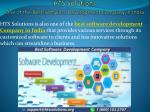 best software development Company India - www.htssolutions.org