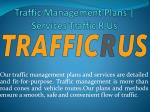 Traffic Management Plans | Services Traffic R Us