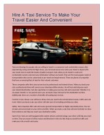 Taxi service from Detroit metropolitan airport