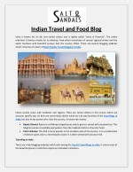 Indian Travel and Food Blog