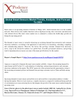 Smart Sensor Market Energy Saving Functions of Smart Sensors are Empowering Growth of the Global Industry
