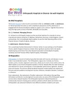 Orthopaedic Hospitals in Chennai- Be well Hospitals