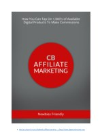 How To Start ClickBank Affiliate Marketing