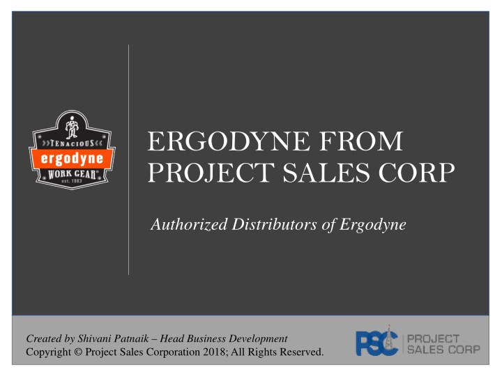 ergodyne from project sales corp n.