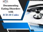 Documenting Eating Disorders with ICD-10 Codes