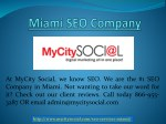 SEO Services Miami