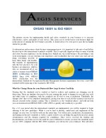 OHSAS 18001 to ISO 45001