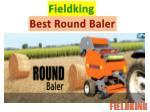 Fieldking- Mini Round Baler Machine