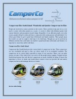 Campervans Hire South Island: Wonderful and Quality Campervans for Hire