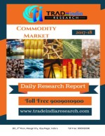 Daily Commodity Prediction Report 16.03.2018 by TradeIndia Research