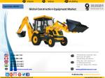 Global Construction Equipment Market to Grow at a CAGR of 8.0% (2016-2024)