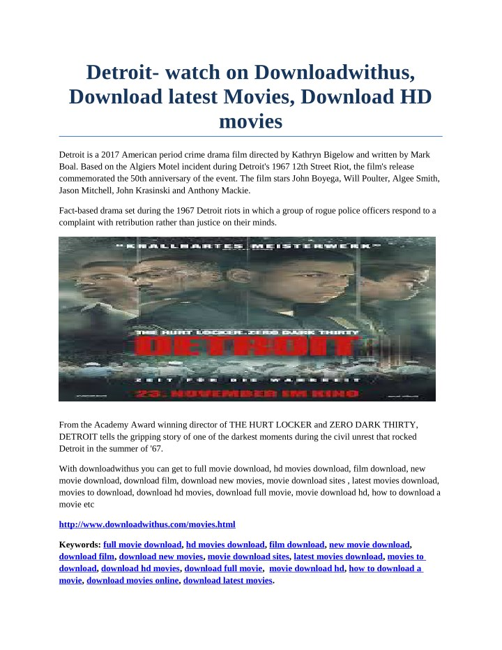 detroit watch on downloadwithus download latest n.