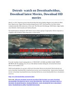 Detroit- watch on Downloadwithus, Download latest Movies, Download HD movies