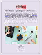 Find the Best Digital Agency for Business