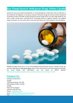 Cheap Generic Anticancer Drugs Online
