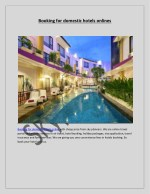 Booking for domestic hotels onlines