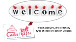 Looking for online cake delivery services to order chocolate strawberry cake in Gurgaon?