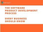 The Software Product Development Process Every Business Should Know