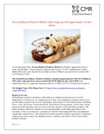 Frozen Bakery Products Market is expected to be USD 24.59 Billion by 2023