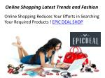 Online Shopping Store - Epic Deal Shop - Up to 75% Off
