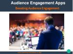 Audience Engagement Apps For Boosting Audience Engagement
