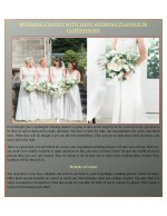 WORKING CLOSELY WITH YOUR WEDDING PLANNER IN COPENHAGEN