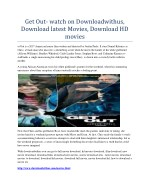 Get Out- watch on Downloadwithus, Download latest Movies, Download HD movies