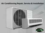 Air Conditioning Repair, Service & Installation Garner NC