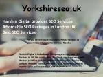 Best SEO Digital Marketing Company in Barnsley