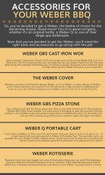 Get Accessories For Your Weber BBQ