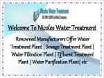 Sewage Treatment Plant In Delhi