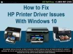 How to Fix HP Printer Driver Issues With HP Printer Support