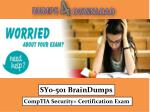 How Can I Pass The SY0-501 Exam In The First Attempt