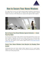 Best Home Security Systems Manchester