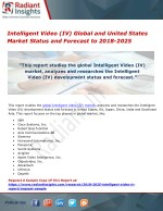 Intelligent Video (IV) Global and United States Market Status and Forecast to 2018-2025