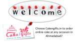 Visit Cakengifts to order the cake on any occasion at Same Day in Ahmedabad?