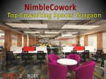 Nimblecowork- Top Coworking Spaces Gurgaon