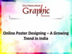 Online Poster Designing – A Growing Trend in India