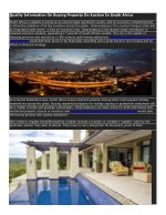 Quality Information On Buying Property On Auction In South Africa