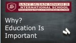 Why Education Is Important ?