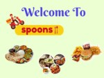 Online Delicious Fresh Food Delivery- Spoons11