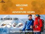 Unique Adventure Equipment Products Online -Adventuregears
