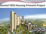 Tata housing Primanti Projects In Gurgaon