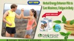Herbal Energy Enhancer Pills to Cure Weakness, Fatigue in Body